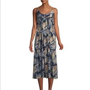 Stella McCartney Midi Ruffle Sleeveless Dress